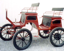 Robert Carriages 2 Seat Buggy