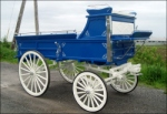 Robert Carriages Three Quarter Hitch Wagon