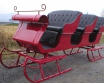 3 Seat Sleigh by Robert Carriages