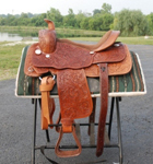 Draft Horse Western Riding Saddle