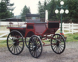 Robert Carriages 4 passenger Wagonette