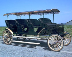 Robert Carriages 4 seat surrey with top