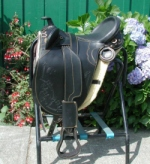 Draft horse Australian saddle-BLACK