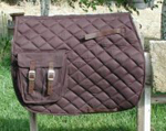 Quilted Australian Saddle Pad with Pockets