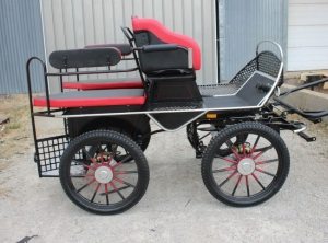 Frontier marathon wagonette XL carriage