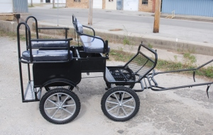 Frontier Mini pony size lightweight wagonette pleasure carriage