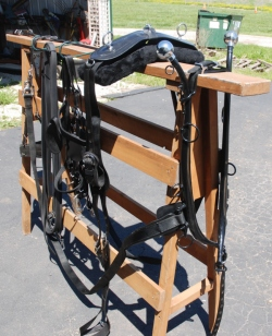 Amish nylon - beta draft horse harness with hames