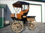 Robert Carriages Doctor&#39s Buggy with top