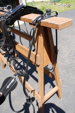 US made beta horse - haflinger buggy harness & hames