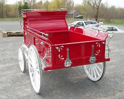 Robert Carriages Mini Miniature Horse Hitch Wagon