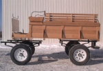 Robert Carriages 10 foot Oak Trail Wagon