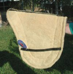 Australian fleece/felt saddle pad