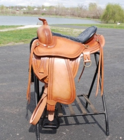 Draft Horse Trail Saddle